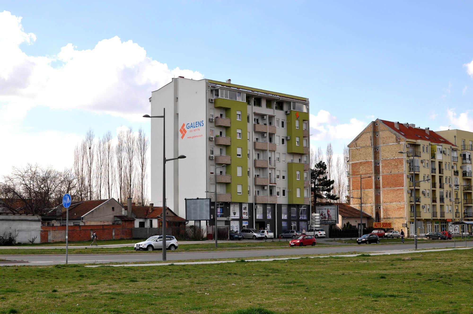 Galens, Novi Sad