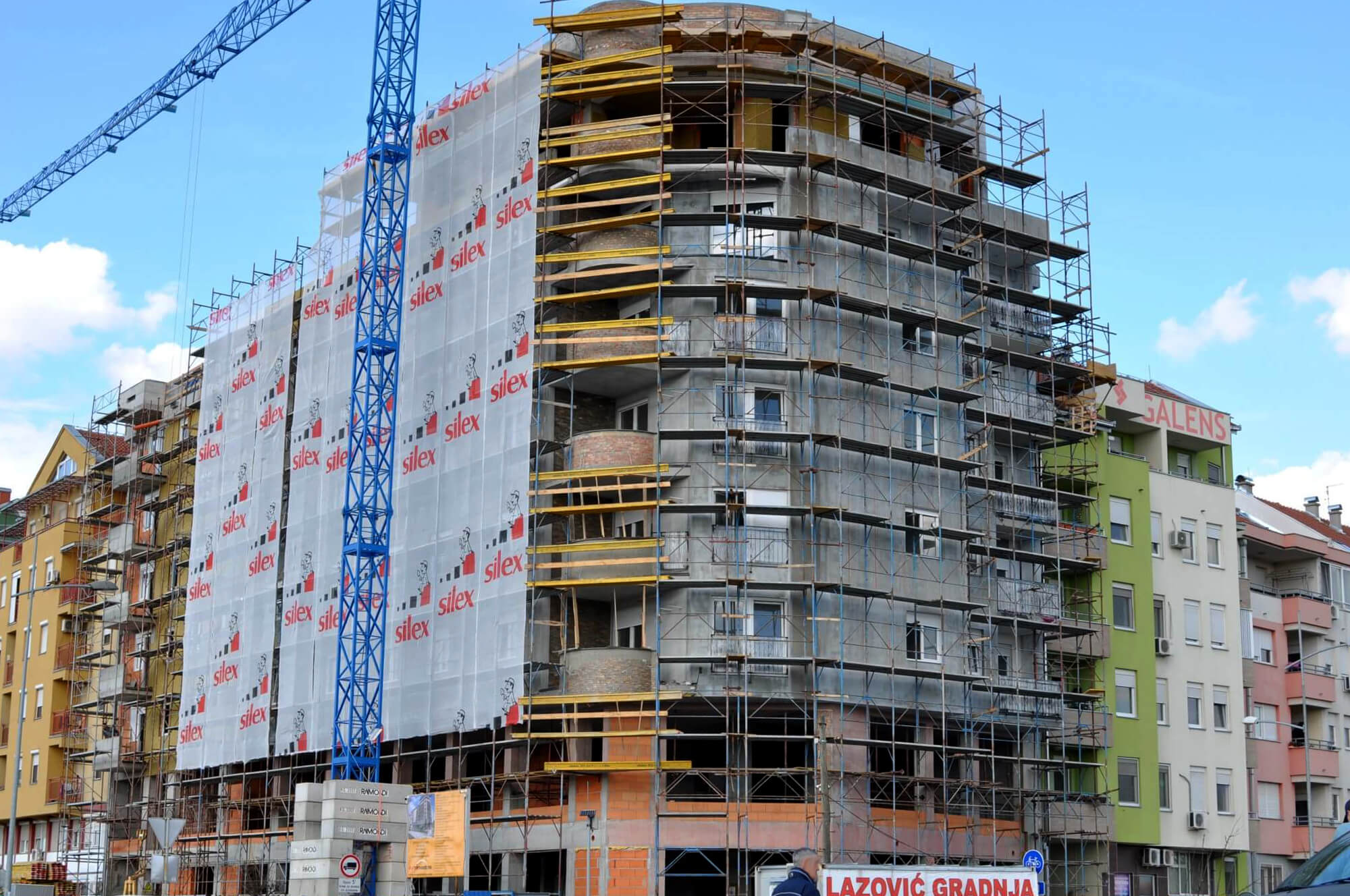 Lazović Gradnja, Novi Sad
